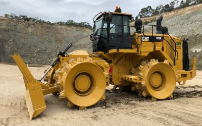 SBI takes delivery of Cat 826K Compactor