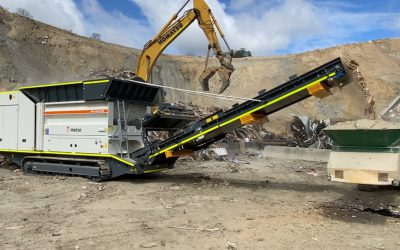 SBI takes delivery of Metso Waste Shredder